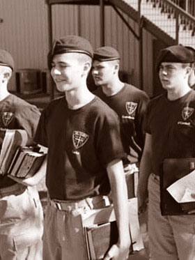 military boarding school that teaches discipline